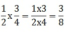 How to multiply a fraction by another fraction